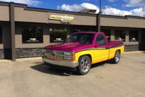 Allie Yellow Truck