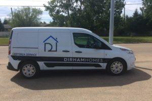 Dirham Homes Van