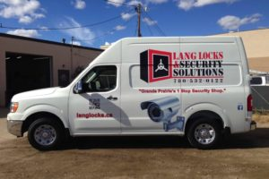 Lang Locks Van