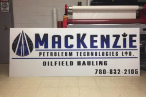 Mackenzie Sign