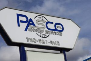 Pasco Pole Sign