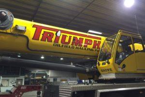 Triumph Crane