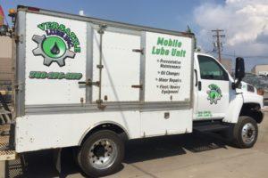 Versatile Lube truck