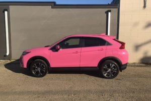 2020 Mitsubishi Wrap in Pink (1)