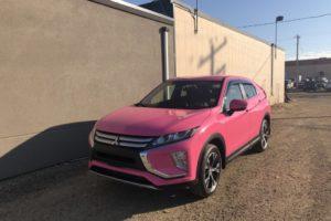 2020 Mitsubishi Wrap in Pink (5)